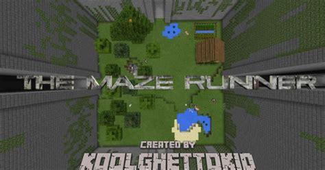 maze runner film tnt village the maze runner minecraft pe map minecraft hub