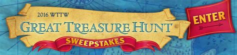 2016 wttw great treasure hunt sweepstakes entry form wttw chicago public media - Wttw Sweepstakes
