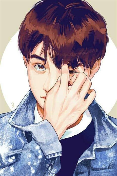 anime do kyungsoo exo d o kyungsoo desenho ilustrado kpop exo