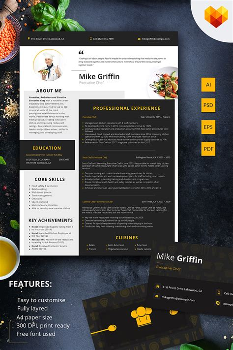sample resume for cook position sous chef cv sample examples of