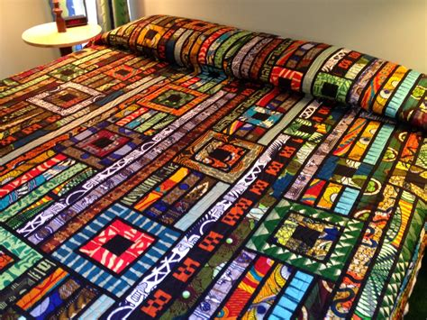 Inspired Quilts by Africa Quilt By Pat Callihan At Quilting Quietly