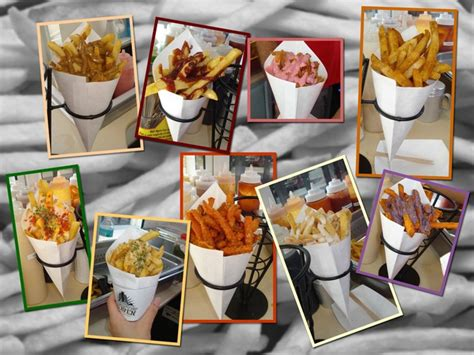 french fry bar toppings french fries only restaurant opening in the woodlands