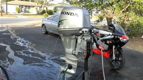honda hp shortshaft electric start  hours youtube