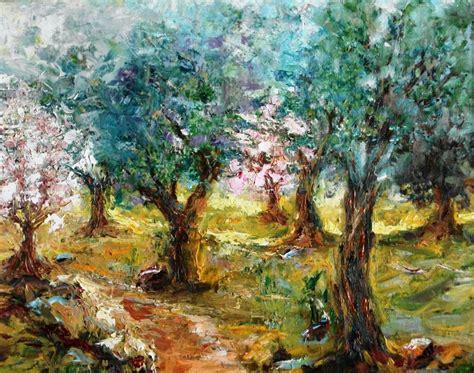 cuadros de mir entre olivos y almendros maria dolores figuerola