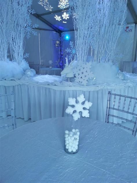 frozen theme decorations winter decor idea www themodernjewishmitzvah