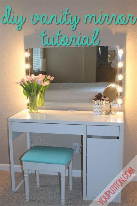 diy vanity desk 25 best ideas about diy vanity mirror on vanity makeup rooms diy makeup vanity and