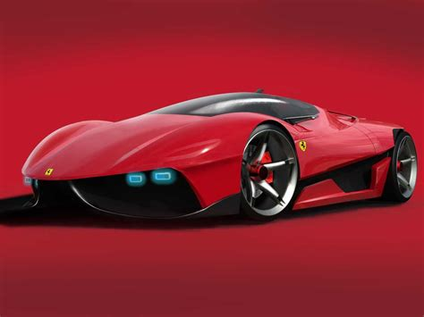 futuristic cars future automobiles car luxurious of new ferrari ego in