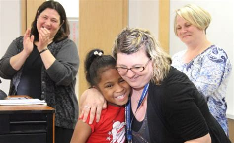 Um Flint Grad Ensures Education by Um Flint Graduate Students Celebrate Reading Center Success