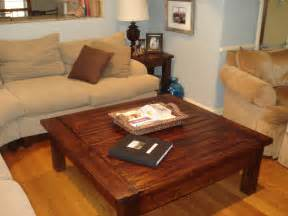 build large coffee table quick woodworking projects