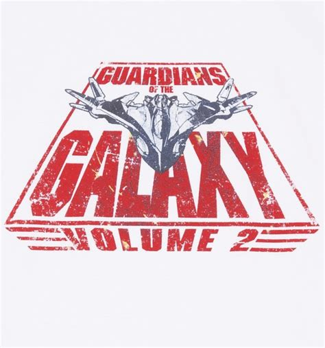 Guardian Of The Galaxy Logo s white retro guardians of the galaxy volume 2 logo
