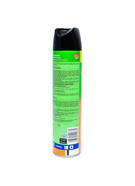 Anti Nyamuk Spray baygon insektisida spray orange klg 600ml