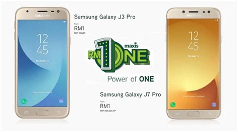 Samsung J3 Rm the galaxy j3 j7 pro is just rm1 when you sign up with maxisone plan zing gadget