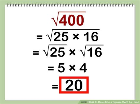 pattern in solving numbers without manually computing how to calculate a square root by hand with calculator