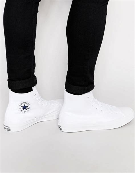 Import Uk Asos Lace Up Plimsolls With Monochrome Print converse converse chuck all ii hi top