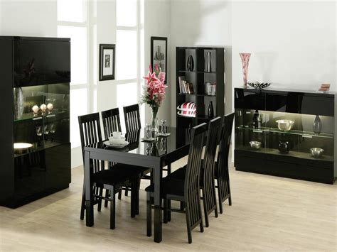 black extendable dining table and chairs black extendable dining tables and chairs dining room ideas
