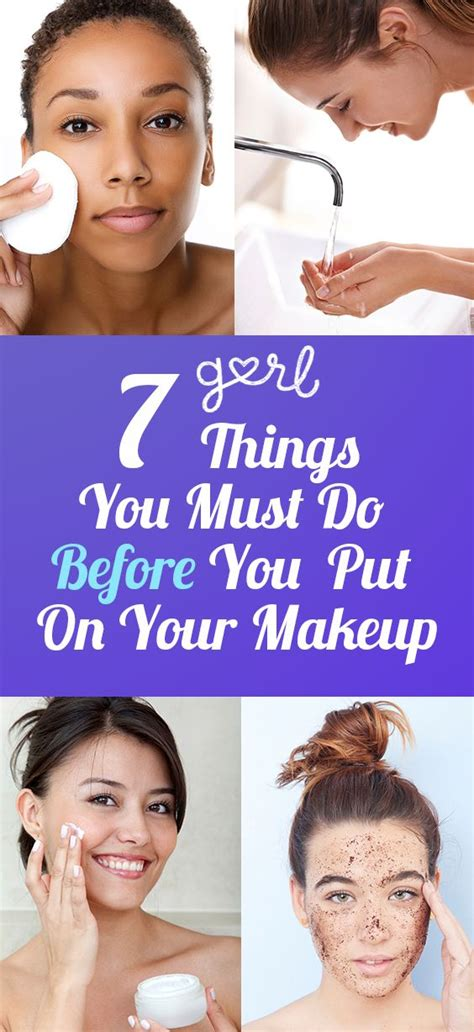Where Do You Put Your Makeup On | 7 things you must do before you put on your makeup posts
