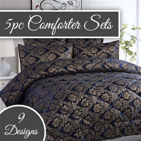 european inspired 5 piece bedspread comforter sets buy
