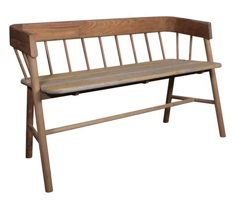 banc canape hk living banc canap 233 d ext 233 rieur sofa en teck naturel