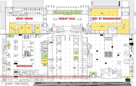 union station toronto floor plan toronto union station revitalization m s city of toronto norr page 196 skyrisecities