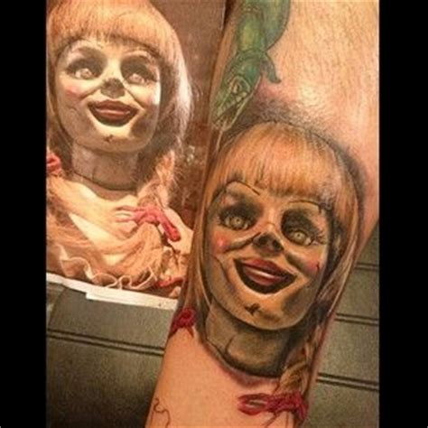 annabelle doll wig annabelle doll tattoos the conjuring annabelle tattoos