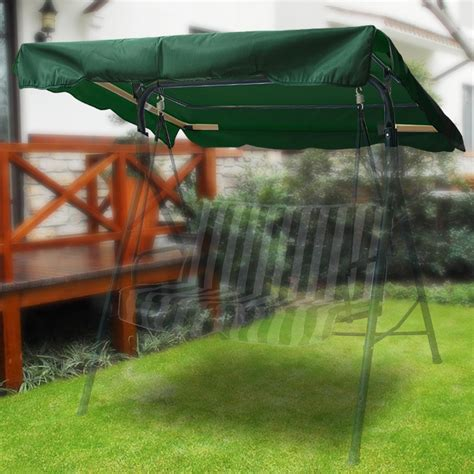 swing canopy cover 76 quot x44 quot outdoor swing canopy top replacement cover garden