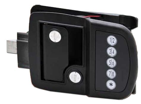 Trailer Door Lock by Ap Products 013 509 Electronic Door Lock For Travel