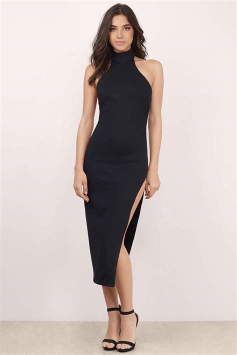 dress for black midi dress black dress high slit dress