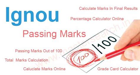 Mba Pass Marks In Ou by Ignou Passing Marks In Bdp M Ba B Meg M Sc