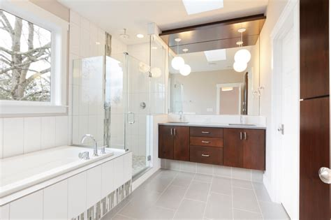 lighting a match in the bathroom 50 beautifully lit bathrooms with skylights pictures