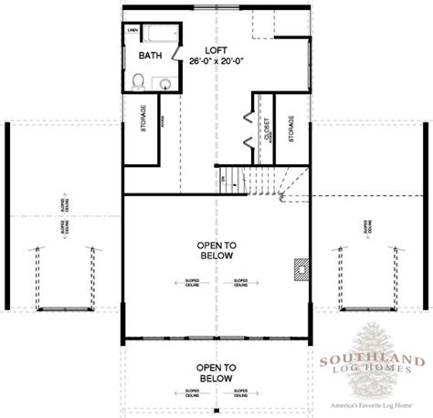 southland floor plan claiborne plans information southland log homes