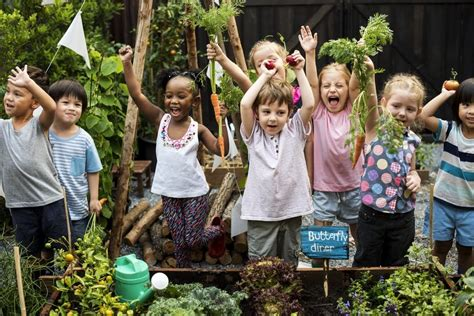 teach kids  food     gardening
