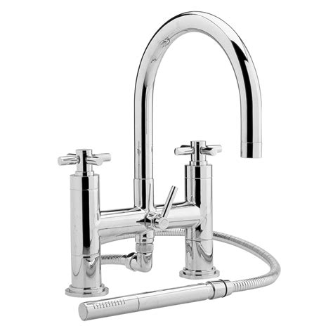deck mount bathtub faucet with sprayer deck mount tub faucet with sprayer