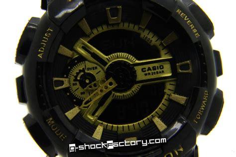 G Shock Ga 110 Gshock Ga110 Warna Black 1 g shock ga 110 gb 1a limited edition black by www g shockfactory