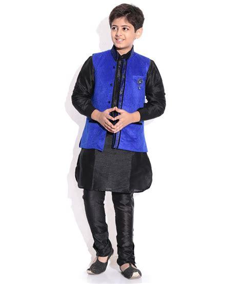 riwaaz cream mehroon color kurta pajama set with jacket riwaaz blue black color kurta pajama set with jacket for