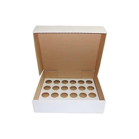 Box Cupcakes cupcakel2405 24 large cupcake box corrugated 17 25 x 14