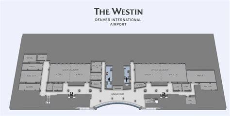 denver airport floor plan denver airport meeting rooms the westin denver airport