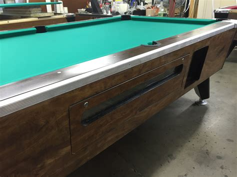 Bars With Pool Tables by Table 090116 Used Coin Operated Bar Pool Tables