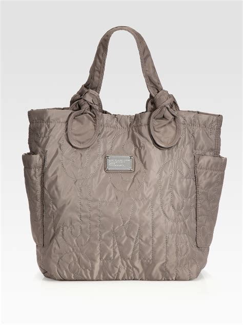Marc By Marc Tate Embroidered Shopper by Lyst Marc By Marc Pretty Medium Tate Tote