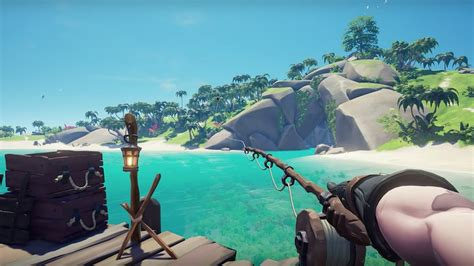 sea  thieves anniversary update adds fishing  story
