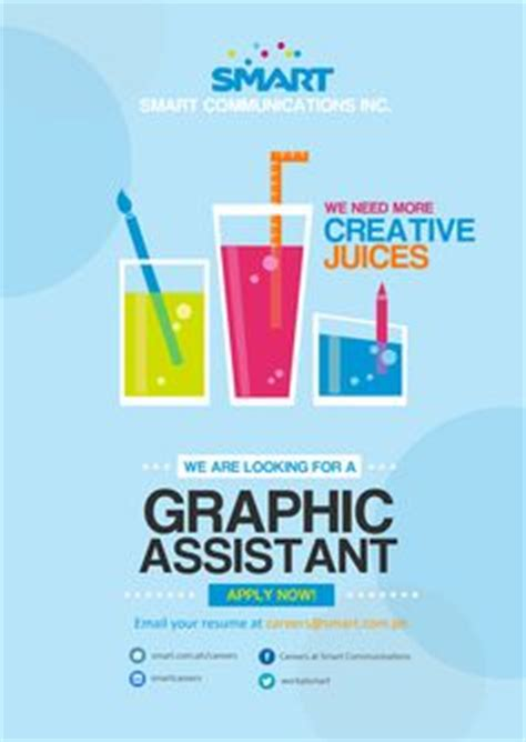 graphic design poster jobs design a creative yet simple graphic for your job