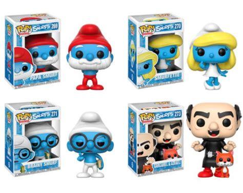 A11133 Funko Pop Original The Smurfs Smurfette funko pop animation smurfs papa smurf smurfette brainy