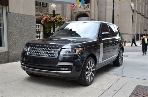 cost of 2014 range rover 2014 land rover range rover autobiography lwb used