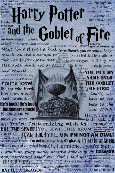 harry potter and the goblet of book report stylish posters with harry potter quotes pictures