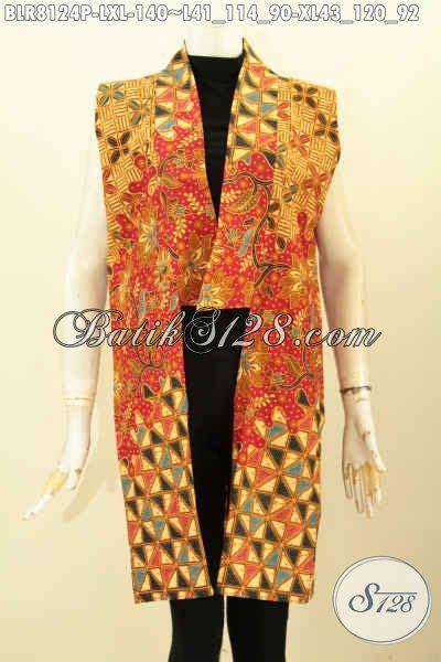 Harga Outer Panjang Tanpa Lengan by Model Baju Batik Wanita Tanpa Lengan Outer Batik Panjang