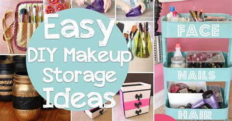 diy projects 25 brilliant and easy diy makeup