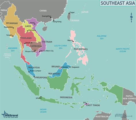 the map of south asia file map of southeast asia png wikitravel shared