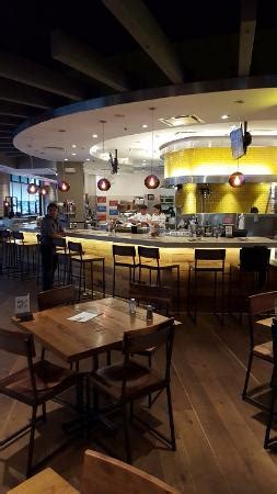California Pizza Kitchen At Memorial City Houston Tx 77024 by A View Of The Large Dining Area Picture Of California