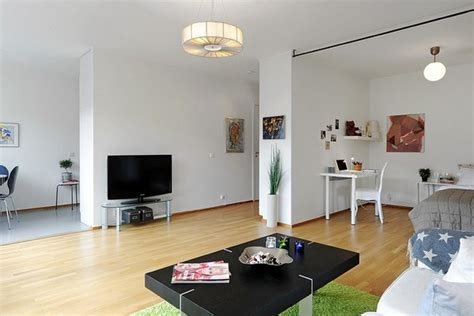apartment living room ideas inspiring all in one room apartment in stockholm