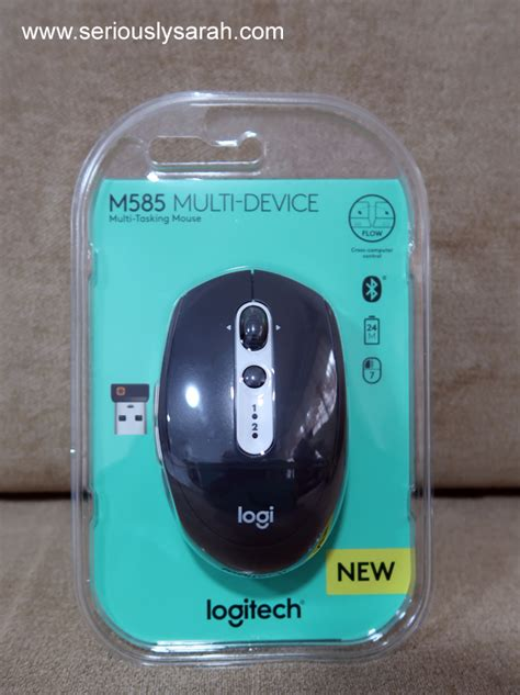 Logitech M585 Wireless Mouse logitech m585 mouse review seriously