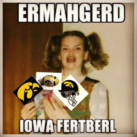 iowa hawkeye football lol football hawks pinterest